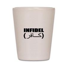 INFIDEL Shot Glass