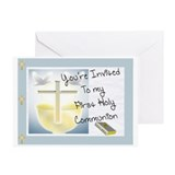 First Communion Greeting Cards (Pk of 10)