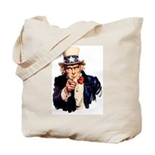 Uncle Sam: WE WANT YOU Tote Bag