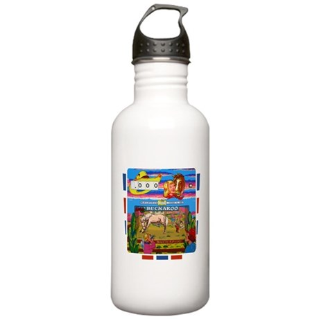 "Gottlieb® ""Buckaroo"" Stainless Water Bottle 1."