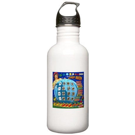"Gottlieb® ""Gypsy Queen"" Stainless Water Bottle"