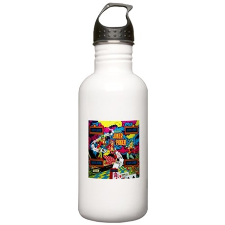 "Gottlieb® ""Joker Poker"" Stainless Water Bottle"