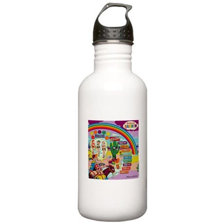 "Gottlieb® ""Rainbow"" Stainless Water Bottle 1.0"