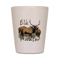 Elk Hunter Shot Glass