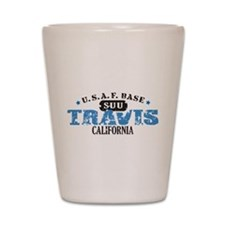 Travis Air Force Base Shot Glass