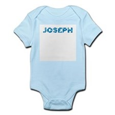 jigsaw boys name (joseph) Infant Creeper