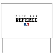 Referee Yard Sign