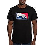 Cougar Hunter Men's Fitted T-Shirt (dark)