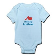 I Love My Brothers Infant Bodysuit