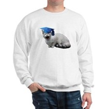 Cat Graduation Sweatshirt