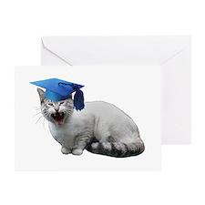 Cat Graduation Greeting Card
