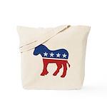 Democrat Donkey Logo Tote Bag
