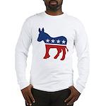 Democrat Donkey Logo Long Sleeve T-Shirt