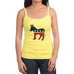 Democrat Donkey Logo Jr. Spaghetti Tank