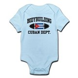 Cuban Bodybuilder Infant Bodysuit