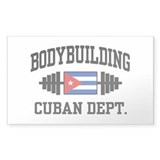 Cuban Bodybuilder Decal