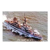 USS CORRY Postcards (Package of 8)