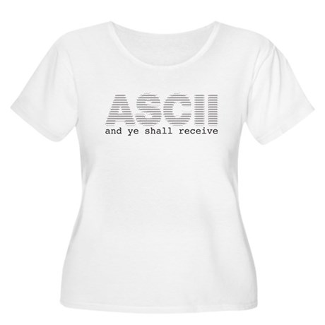 ASCII and ye shall receive Women's Plus Size Scoop