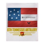 8th Tennessee Artillery Throw Blanket
