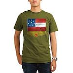 8th Tennessee Artillery Organic Men's T-Shirt (dar