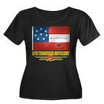 8th Tennessee Artillery Women's Plus Size Scoop Ne