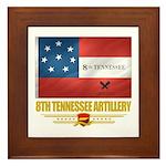 8th Tennessee Artillery Framed Tile