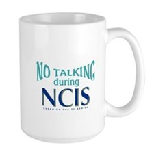 No Talking During NCIS Mug