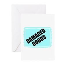 DAMAGED GOODS Greeting Cards (Pk of 10)
