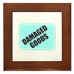DAMAGED GOODS Framed Tile