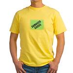 DAMAGED GOODS Yellow T-Shirt