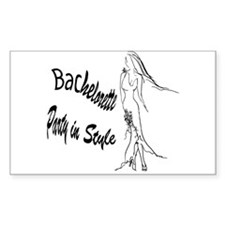 Bachelorette Party in Style Decal
