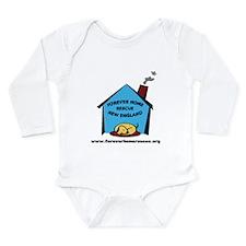 Cute New home Long Sleeve Infant Bodysuit