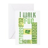 I Walk for Fun... Greeting Card