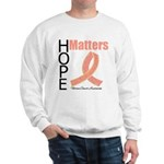 Uterine Cancer HopeMatters Sweatshirt