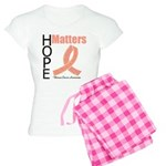 Uterine Cancer HopeMatters Women's Light Pajamas