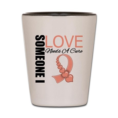 Uterine Cancer Needs A Cure Shot Glass