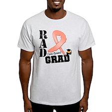Uterine Cancer RAD Grad T-Shirt