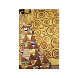 gustav klimt art Rectangle Magnet