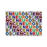 Cute Colorful words Rectangle Magnet