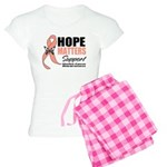 Uterine Cancer Hope Matters Women's Light Pajamas