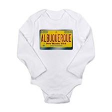 """ALBUQUERQUE"" New Mexico License Plate Long Sleeve"