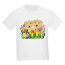 Golden Retriever Kids T-Shirt