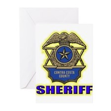 Contra Costa County Sheriff Greeting Cards (Pk of