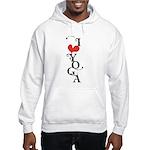 I heart YOGA Hooded Sweatshirt