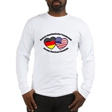 German-American Friendship Long Sleeve T-Shirt