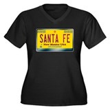 &quot;SANTA FE&quot; New Mexico License Plate Women's Plus S