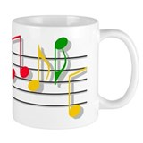Musical Notes Mug