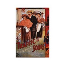 Traffic in Souls New York City 1800's Movie Magnet