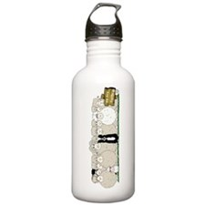 Sheep Family Sports Water Bottle