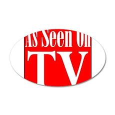 As Seen On TV 38.5 x 24.5 Oval Wall Peel